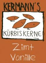 Etikette Kürbiskerne Zimt Vanille