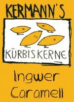 Etikette Kürbiskerne Ingwer Caramell
