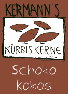 Kürbiskerne Schoko Kokos