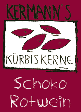 Kürbiskerne Schoko Rotwein